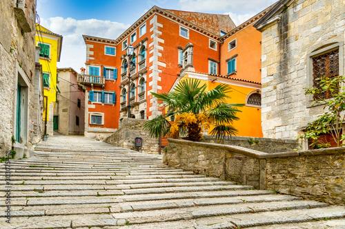Labin Kroatien, Altstadt
