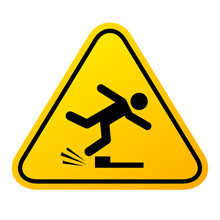 Tripping Hazard Vector Sign