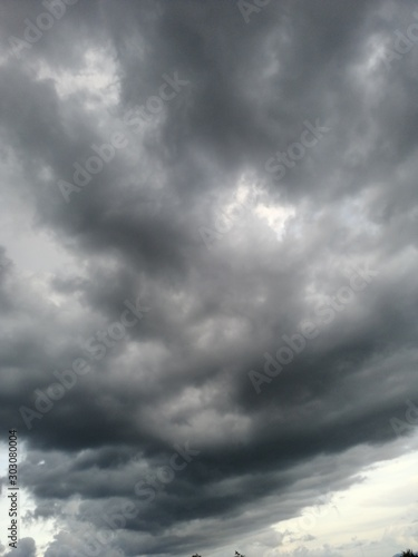 Fotografie, Obraz dramatic sky with clouds