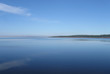Blick auf den See von Sanguinet. Sûdwest Frankreich.
