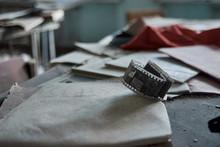 Abandoned School Number 13 In The City Of Pripyat, Chernobyl, Ukraine
