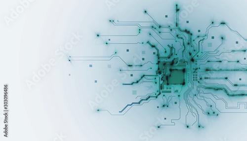 Fotografía processore, memoria, digitale, cpu, tecnologia futuristica