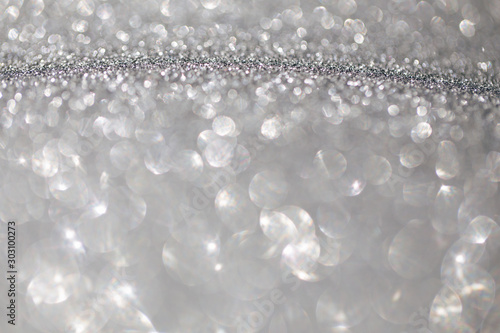 Fototapety, obrazy: Abstract background of glitter. Holiday background.