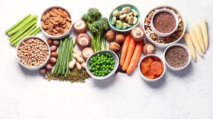 Food sources of plant based protein