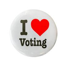 I Love Voting Badge