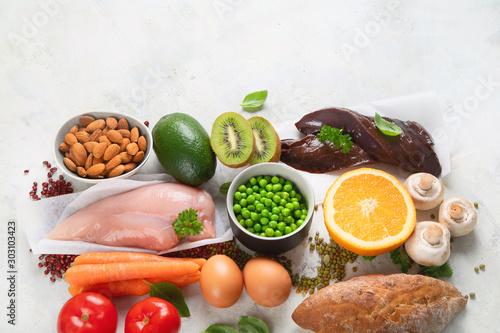Fotografía  Foods High In Niacin -Vitamin B3