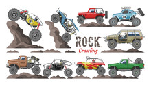 Monster Truck Vector Cartoon R...
