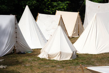 Medieval Military Tent Camp Si...
