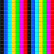 Retro background colorful square mosaics