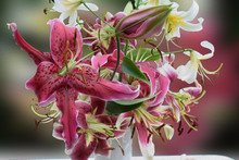 Artistic Bunch Of Lilies Miss ...