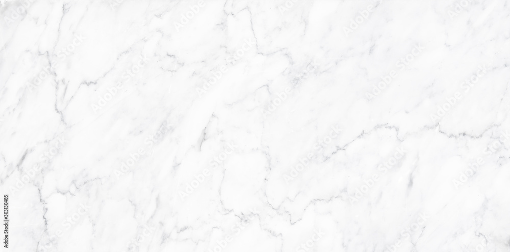 Fototapety, obrazy: natural White marble texture for skin tile wallpaper luxurious background. Creative Stone ceramic art wall interiors backdrop design. picture high resolution.