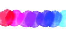 Purple Watercolor Background For Your Design, Watercolor Background Concept, Vector.