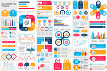 Bundle Infographic Elements Da...