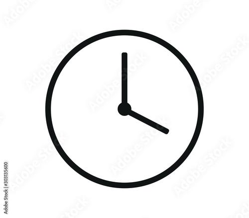 Photographie clock icon
