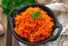 Korean Style Carrot Salad Of G...