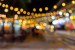 Leinwandbild Motiv Blur background like a bright bokeh