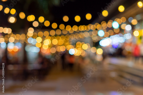 Blur background like a bright bokeh - 303144228
