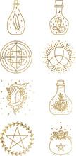 Mystical And Magic Logo Collec...