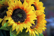 Bouquet Of Decorative Yellow F...