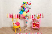Balloons In The Form Of A Unic...