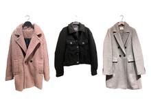 Women's Coats On Hangers Isola...