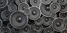 Acoustic Sound Speakers Backgr...
