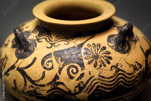 Photo Vase from the excavations in Greece