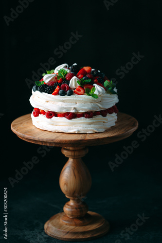 Valokuvatapetti Fruit cake