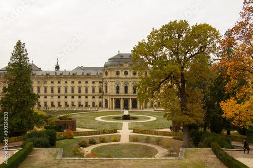 Photo belvedere palace in vienna