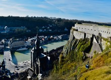 Dinant Is The City On The Bank...