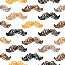 Pattern Of Gentleman Mustache ...
