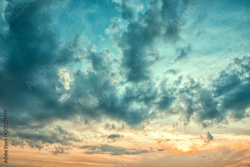 Fototapeta Clouds in the sky obraz