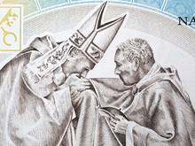John Paul II With Cardinal Wys...