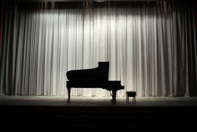 View Of Grand Piano
