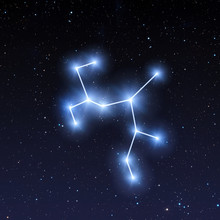 Sagittarius Constellation Map ...