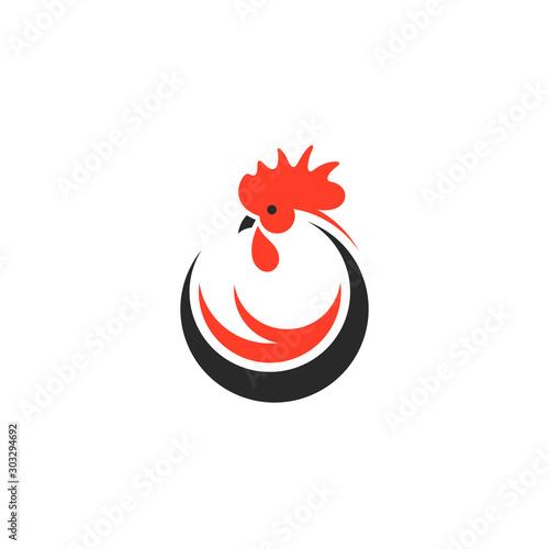 Cuadros en Lienzo Chicken. Logo
