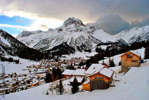 Photo Lech-Zurs am Arlberg Vorarlberg Austrian Alps Austria