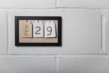 Wall Hanging Calendar In A Pic...