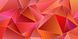 canvas print picture - 3d Triangles, abstract  background. Design wallpaper.