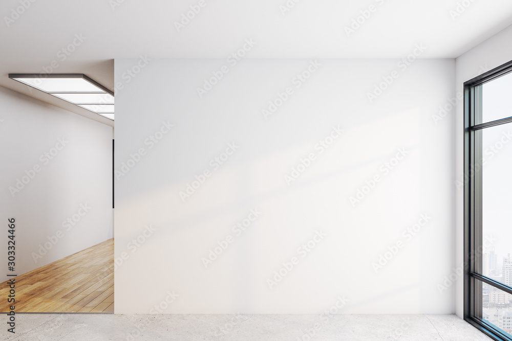 Fototapety, obrazy: Bright interior with copyspace