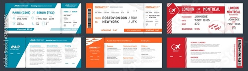 Fotografija  Airplane tickets