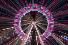 Long Exposure Zoom Of A Ferris...