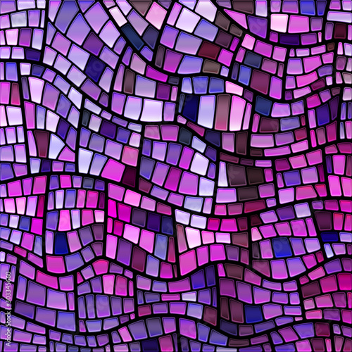 Fotografija  abstract vector stained-glass mosaic background
