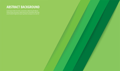 abstract modern green lines background vector illustration EPS10