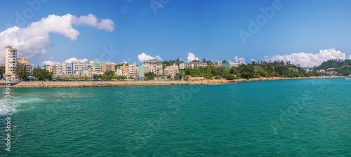 Panorama of Repulse Bay in Hong Kong Billede på lærred
