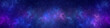 Leinwanddruck Bild - Nebula and stars in night sky web banner. Space background.