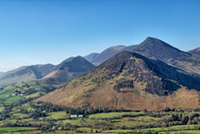 A View Of Causey Pike From Catbells