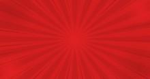 Comics Red Retro Background Wi...