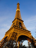 Fototapeta Fototapety z wieżą Eiffla - eiffel tower in paris