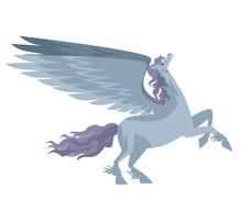 White Pegasus Mythology Winged Horse